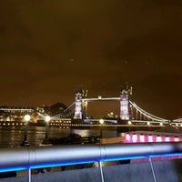 Photo taken at London Bridge City Pier by Soner A. on 12/23/2016