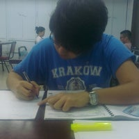 Photo taken at UERM Library by Isa S. on 8/8/2013