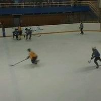 Photo taken at Talsu hokeja klubs (Talsi Ice Hockey club) by Uģis V. on 1/28/2017