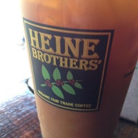 Photo taken at Heine Brothers' Coffee by Lucille F. on 8/25/2014