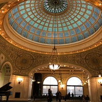 Photo taken at Tiffany Dome At The Chicago Cultural Center by Lucille F. on 1/7/2018