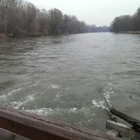 Photo taken at Mura River by Marko M. on 11/30/2013