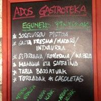 Photo taken at Ados Gastroteka by Ados G. on 9/4/2013
