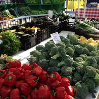 Photo taken at Green City Market Fulton by Rod B. on 8/9/2014