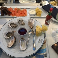 Photo taken at Seafood Bar by Caviar House & Prunier by Nikolas R. on 2/2/2016