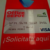 Photo taken at Office Depot by Miguel C. on 8/10/2013