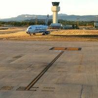 Photo taken at Aeropuerto Internacional de Tuxtla Gutierrez Ángel Albino Corzo (TGZ) by Raziel A. on 12/25/2012