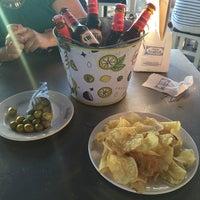 Photo taken at Cervecería La Sureña by Carol on 6/5/2016