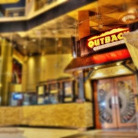 Photo taken at Outback Steakhouse by Godfrey D. on 7/29/2013