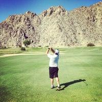 Photo taken at La Quinta Mountain Course by David E. on 6/22/2014
