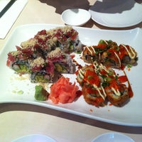 Photo taken at Ginza Sushi by Corina N. on 3/4/2013
