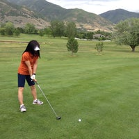 Photo taken at Davis Park Golf Course by Steve B. on 6/26/2014