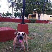 Photo taken at Parque De Bacalar by Adriel C. on 8/31/2013