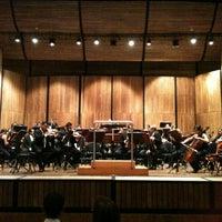 Photo taken at Teatro Metropolitano by Monica A. on 7/30/2013