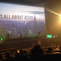 Photo taken at Igreja No Cinema by Mariana W. on 8/3/2014