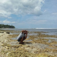 Photo taken at Tanjung Setia Surf Beach by Ardhiantsyah l. on 1/12/2014