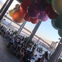 Photo taken at The Heineken River Lounge at Pier 17 by Bennie F. on 7/10/2018
