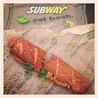 Photo taken at Subway by Paul L. on 2/26/2014