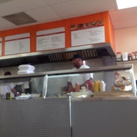 Photo taken at Goo's Take-Out & Catering by Kristian D. on 9/15/2012