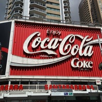 Photo taken at The Coca-Cola Billboard by Tim M. on 2/3/2013