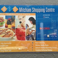 Photo taken at Mitcham Shopping Centre by Tim M. on 1/25/2013