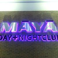 Photo taken at Māyā Day + Nightclub by Andrew J. on 4/26/2013