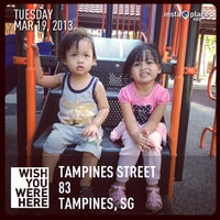 Photo taken at Playground @ Tampines Blk 869 by ilovesecretagents on 3/19/2013