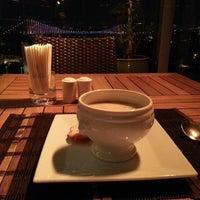 Photo taken at Conrad Teras Restaurant by Sarah D. on 10/26/2013