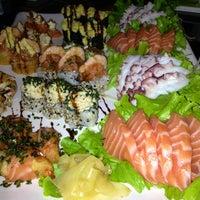 Photo taken at Hanbai Sushi Bar by ELLEN P. on 8/9/2013