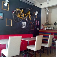 Photo taken at no:42/B  Tattoo Cafe by No:42/B Tattoo Cafe on 9/21/2013