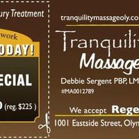 Photo taken at Tranquility Massage and Full Circle Health and Healing by CVM Coupons C. on 1/19/2013