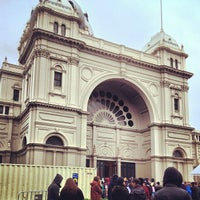 Photo taken at Royal Exhibition Building by Renee S. on 6/12/2013