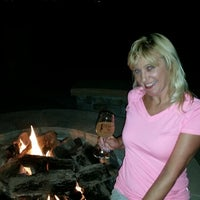 Photo taken at Fire Pit of Love ❤ by Kathleen M. on 9/27/2014