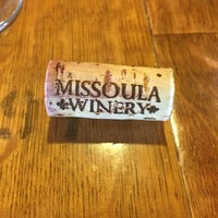 Photo taken at Missoula Winery by Kathleen M. on 7/28/2016