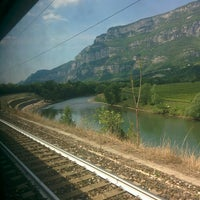 Photo taken at Stazione di Domegliara by Demetrio F. on 5/7/2016