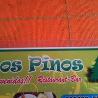 Photo taken at Cabaña Los Pinos by Luis S. on 11/29/2012