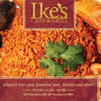Photo taken at Ike's Cafe & Grill by Kwab K. on 1/6/2014