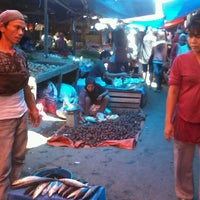 Photo taken at Pasar Lubuk Alung by Lusy O. on 7/30/2013