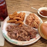 Photo taken at Stamey's Old Fashioned Barbecue by Scott P. on 12/21/2012