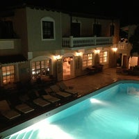 Photo taken at Ino Village Hotel Samos by Raffaello T. on 9/1/2013