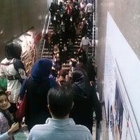 Photo taken at Panzdahe Khordad Metro Station by ŽaŽa H. on 9/2/2014