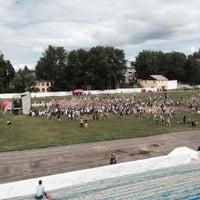 "Photo taken at Стадион ""Локомотив"" by Дашуля К. on 7/18/2015"