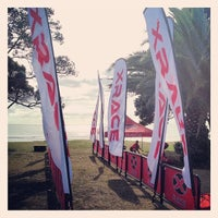 Photo taken at Orewa Surf club Bar, Bistro & Function Centre by Clint H. on 2/22/2014