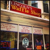 Photo taken at Lincoln's Waffle Shop by Clint H. on 4/14/2013