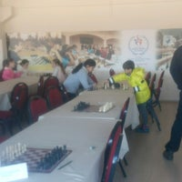 Photo taken at Gediz Spor Salonu by ^Hcr^ on 2/14/2017