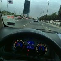 Photo taken at King Abdulaziz Rd by azooz z. on 1/13/2014