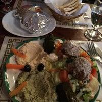 Photo taken at Mamoun's Mideast Cafe by Mansi S. on 3/6/2015