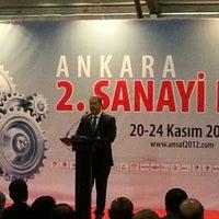 Photo taken at Atatürk Kültür Merkezi by Ilgaz B. on 11/20/2012