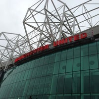 Photo taken at Manchester United Museum & Tour Centre by Venice A. on 2/9/2013