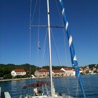 Photo taken at Marina Preko by Kasandra I. on 9/15/2014